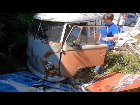 Spilt Window Vw Bus Found : Volkswagen Hunting w/ Dubwerks : Type 2 Transporter / Kombi / Samba