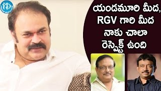 I have a great respect for yandamuri and rgv - naga babu || talking movies with idream