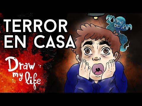 El TERROR está EN CASA - Draw My Life