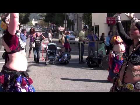 BlueDiamond BellyDance - Sunday Streets Berkeley 10/13/13
