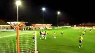 Local Lad Paul Haddow Scores For Fleetwood