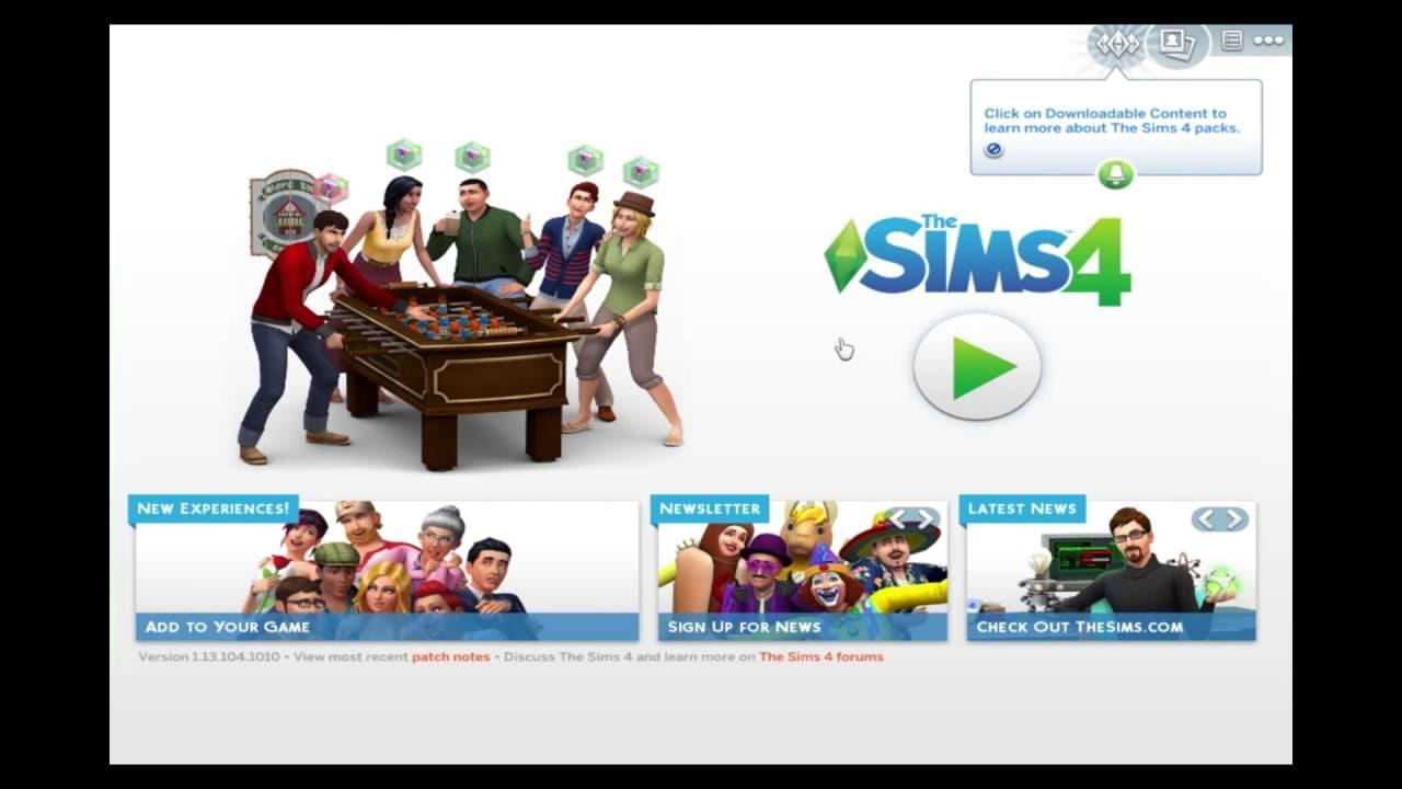 Como Descargar Los Sims 4 Para Mac Juego Base Y Expansiones Packs De Accesorios Youtube