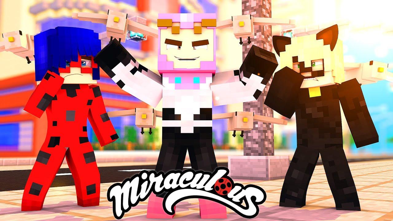 Download Minecraft: SR POMBO 72 (Ep. 72) - MIRACULOUS AS AVENTURAS DE LADYBUG E CAT NOIR