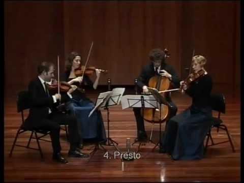 Amaryllis Quartett - Schumann op.41/1