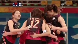 JPN vs CHN Olympic 2008 Woman Volleyball - Preliminary round