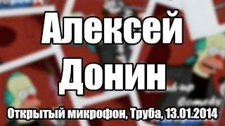 Openmic Nsk / 13.01.14 / Алексей Донин