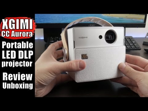 XGIMICCAurora REVIEW: AWESOME Portable LED DLP Projector + 3D Glasses and Tripod