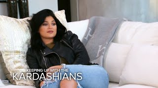 KUWTK | Kim K. Gives Kylie Jenner Sisterly Advice on Insecurities | E!
