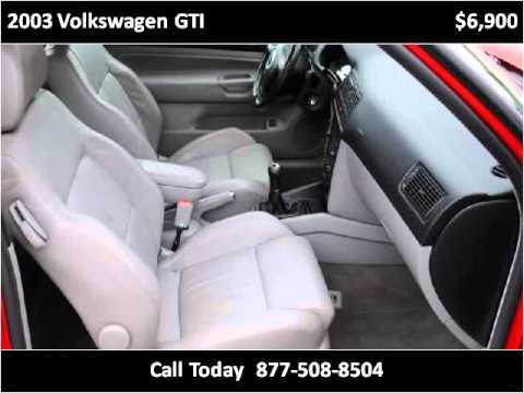 2003 Volkswagen GTI available from Triangle Imports