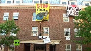 La Embajada de Venezuela en Washington en vivo