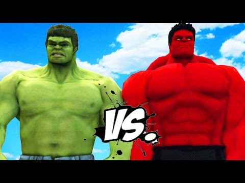 HULK VS RED