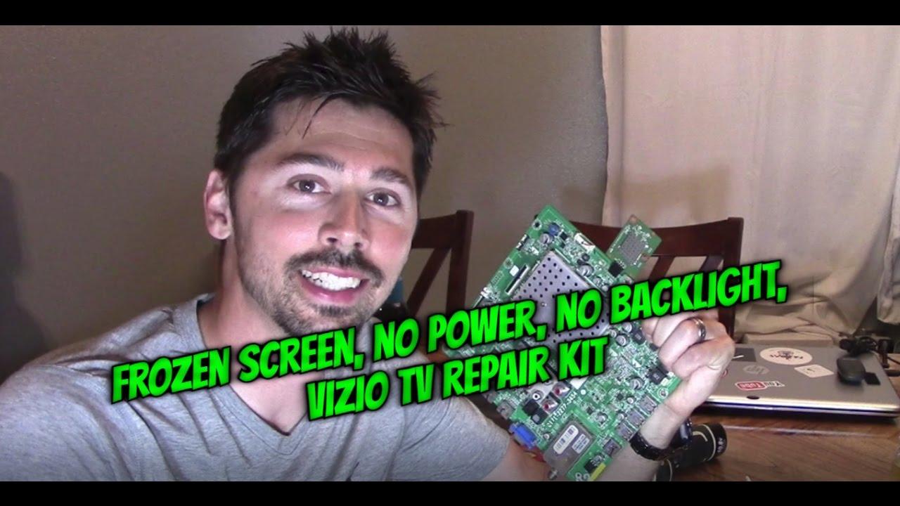 HOW TO SOLDER IC ON VIZIO TV MAIN BOARD REPAIR