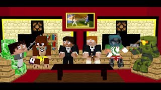 vuclip Achievement Hunter Minecraft Animation: Fucking Pubert!