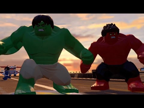 LEGO Marvel's Avengers - All Playable Characters Unlocked | Free Roam Gameplay [HD 1080p]