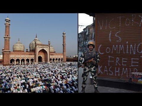 Eid celebrated across the nation, Kashmir under curfew