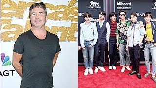 Simon Cowell Raves Over BTS & Reveals He Predicted The K-Pop Craze 3 Yrs. Ago: 'It's Just The Beginn