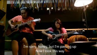Paramore - Misery Business (acoustic guitar cover) + Lyrics (Karaoke)