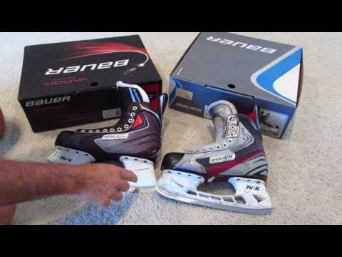 Bauer X4.0 Vs X40 Hockey Skates