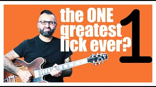 The ONE greatest guitar lick..Ever? Blues/Rock/Soul | GUITAR LESSON |