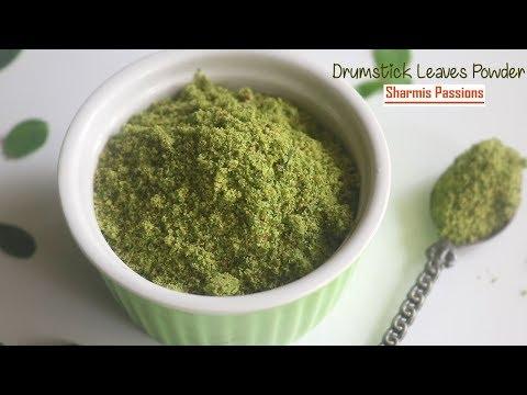 Drumstick Leaves Powder Recipe   Murungai Keerai Podi Recipe