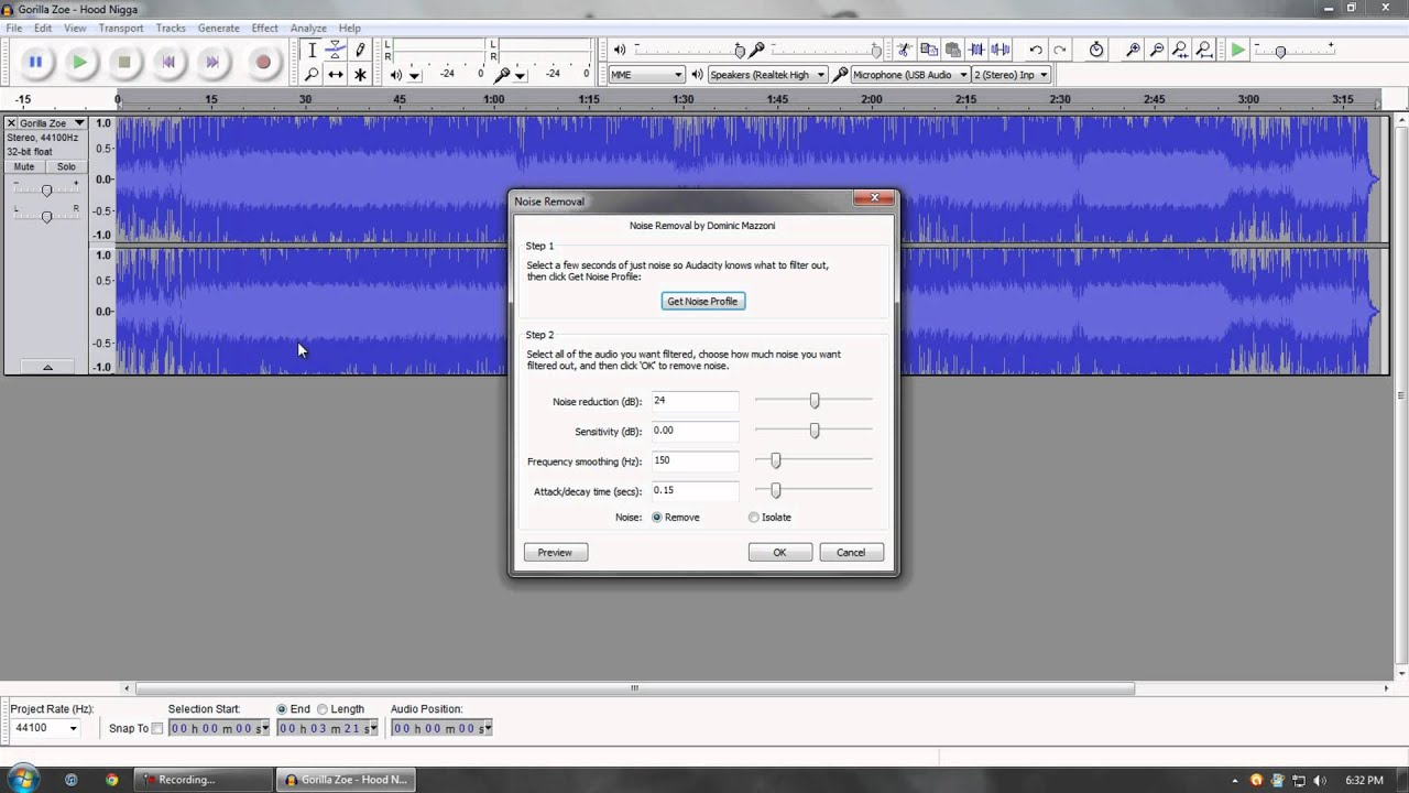 How To Bass Boost Songs With Audacity - YouTube