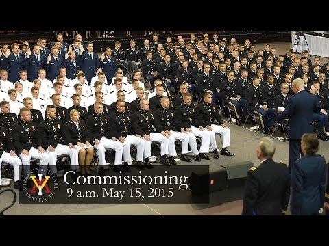 VMI Joint ROTC Commissioning Ceremony