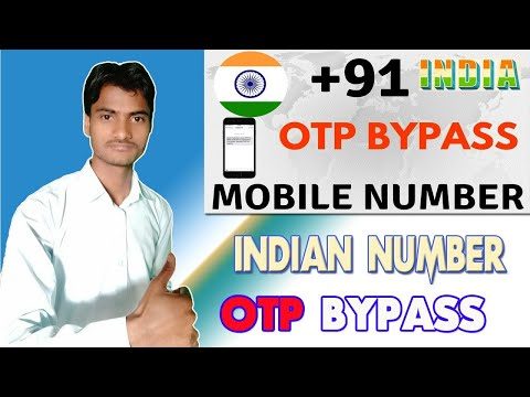 Indian Number OTP Bypass,  || Indian Number Se Otp Bypass Kaise Karey