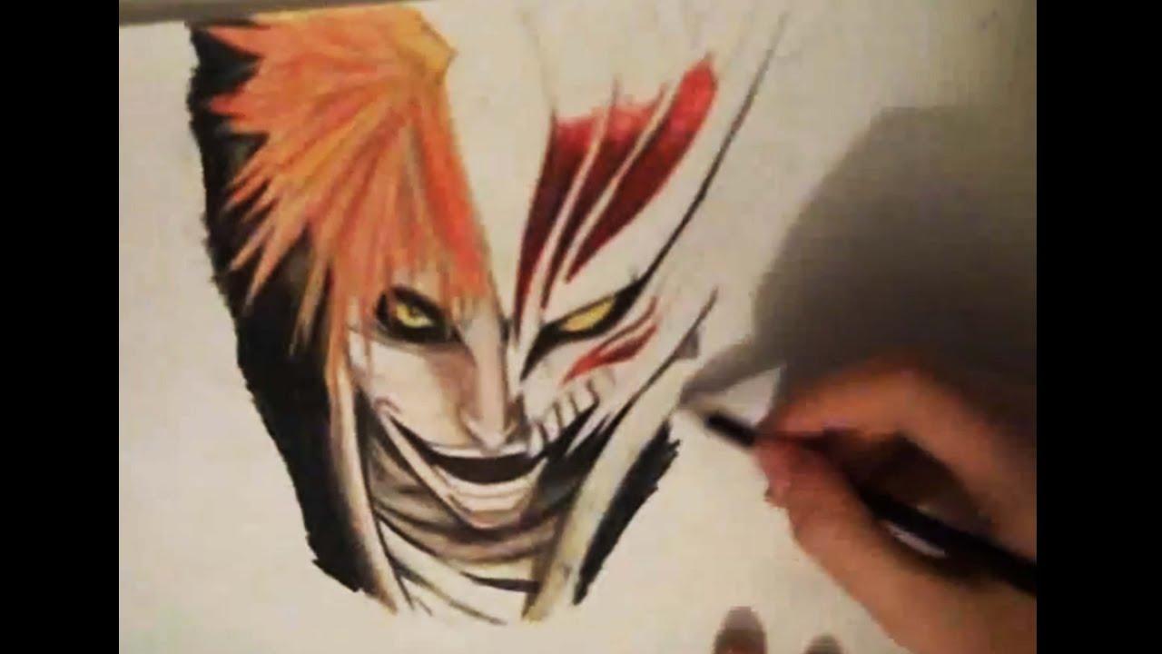 Drawing Hollow Ichigo