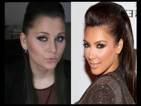 { Tuto Makeup & Coiffure } Look 100% Kim Kardashian