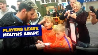 Young Barça fans bewildered by their heroes