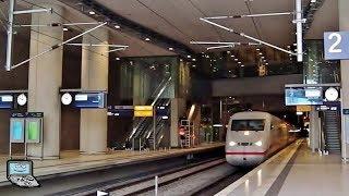 Köln/Bonn Flughafen mit ICE 2, ICE 3, ET 425, ET 423 der Kölner S-Bahn