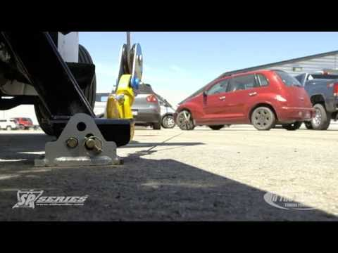 SidePuller Recovery Episode 1/10-Winch a vehicle out of a parking spot in front of your tow truck