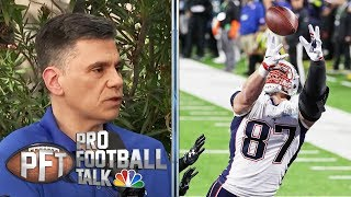 Patriots in horrible position without Gronkowski, says Curran | Pro Football Talk | NBC Sports