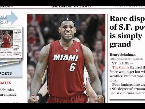 The San Francisco Chronicle Now Available on iPad