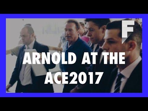 Arnlod Schwarzenegger at Arnold Classic Europe Barcelona 💪
