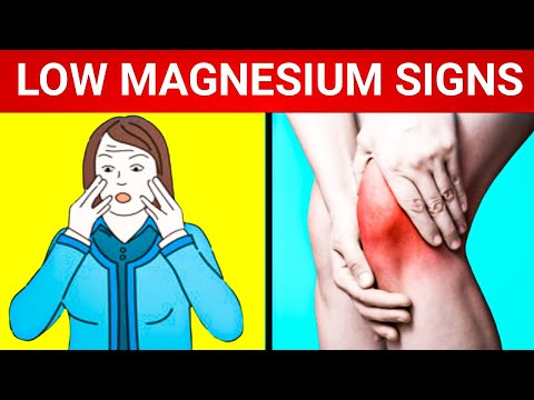 Magnesium Deficiency: 9 Signs You Have Magnesium Deficiency