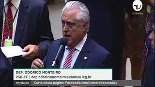 Deputado Odorico na votação que define jornada de trabalho dos Agentes comunitários e de endemias