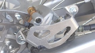 Works Connection-Rear Caliper Guard