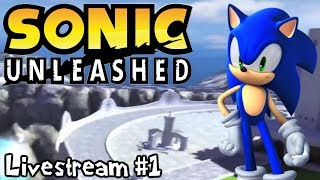 Sonic Unleashed (Xbox 360) | Monster Mash! (Livestream #1)