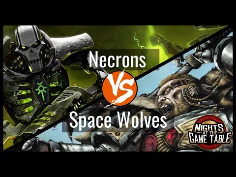 Kingslayer: Deceiver Necrons Vs. Deredo Space Wolves Warhammer 40K Battle Report