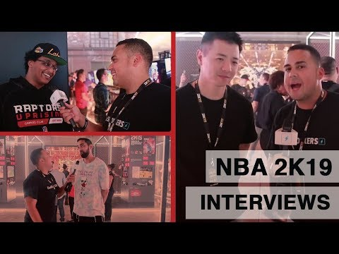 """NBA 2K19: Interviews with Ronnie """"Ronnie2K"""" Singh, Gameplay Director Mike Wang,  and Agent 00"""
