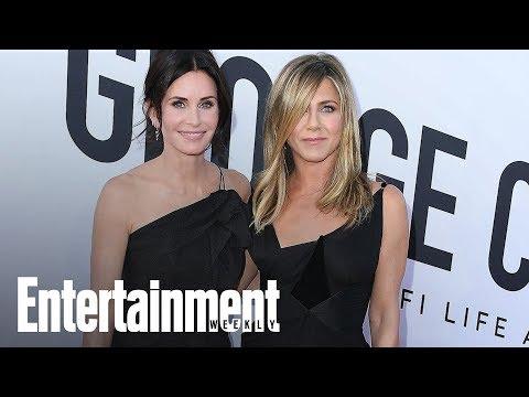 Jennifer Aniston & Courteney Cox Make Fun Of George Clooney   Flash  Entertainment Weekly