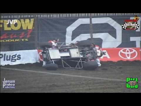 2012 Chili Bowl CARNAGE 1   Crashes & Mishaps   Tulsa, OK   Jan 10/11, 2012