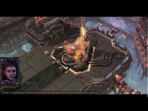Starcraft 2 : Heart of the Swarm - Brutal Campaign Playthrough - Death From Above
