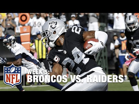 Charles Woodson Picks Off Peyton for the First Time in His Career! | Broncos vs. Raiders | NFL