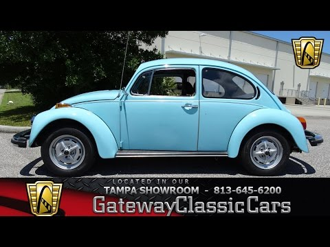 918 TPA 1977 Volkswagen Beetle 1600cc 4-Cylinder 4 Speed Manual