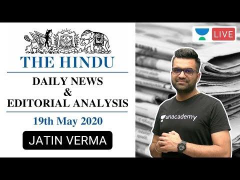 the-daily-hindu-news-and-editorial-analysis-|-19th-may-2020-|-upsc-cse-2020-|-jatin-verma
