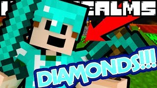 COVER ME WITH DIAMONDS!?! | Minecraft: Underealms (7)