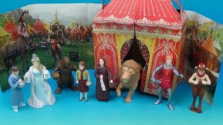 WALT DISNEYS NARNIA THE LION THE WITCH and THE WARDROBE SET OF 8 McDONALDS HAPPY MEAL TOYS