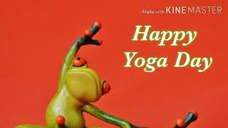 Happy yoga day yoga day images download and share on WhatsApp Facebook Instagram status on 21 june